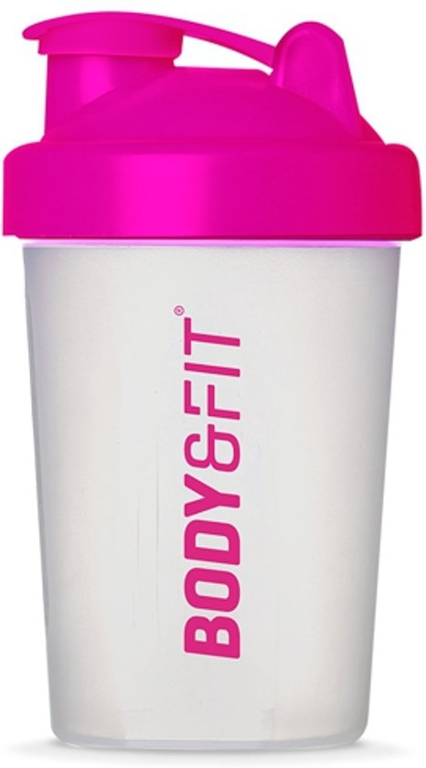 Body & Fit Shakebeker - BPA vrij - Roze - 500 ml