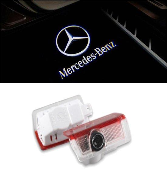 bol.com | Logo deur projector geschikt voor Mercedes - 2 stuks