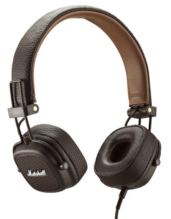 bol | marshall major iii - on-ear koptelefoon - bruin