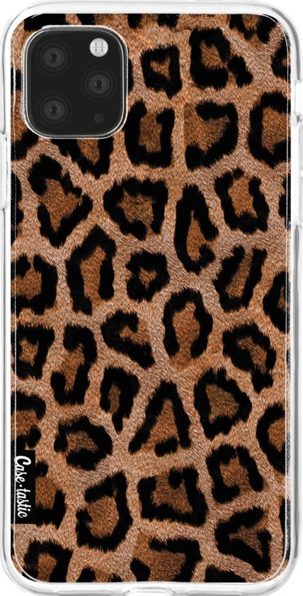 Casetastic Smartphone Hoesje Softcover Apple iPhone 11 Pro Max - Leopard