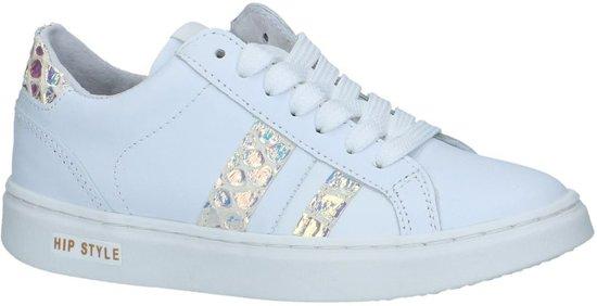 1146cd4af8d bol.com | Hip Jongens Sneakers H1750 - Wit - Maat 34