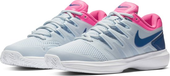 Nike Air Zoom Prestige Hc Sportschoenen Dames - Lichtblauw/Roze - Maat 42