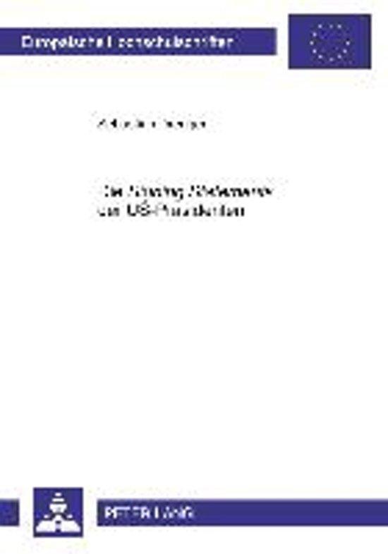 Die signing Statements Der Us-Praesidenten
