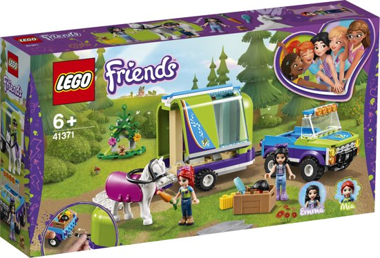 LEGO Friends Mia's Paardentrailer - 41371