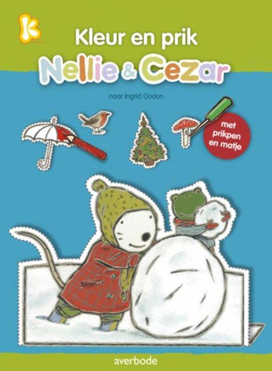 Afbeelding van het spel Kleur en prik met Nellie en Cezar