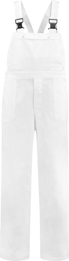 Yoworkwear Tuinbroek 100% katoen wit maat 44