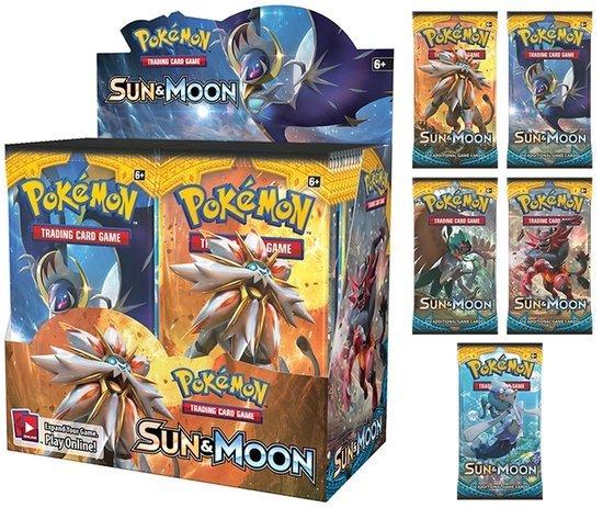 Afbeelding van het spel Pokemon Kaarten Sun & Moon Booster