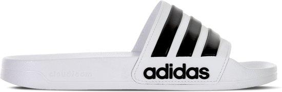 38 Donna Ftwr adidas Bianco Cloudfoam Sporty Taglia Pantofole Adilette b7Ygyf6