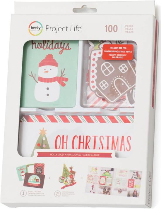 Project Life Value Kit Holly Jolly
