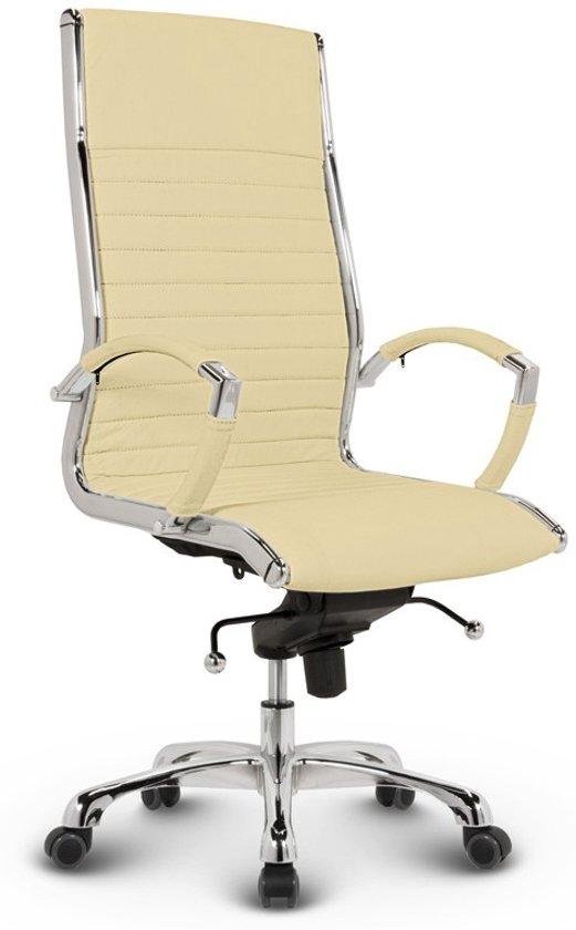 Lederen Bureaustoel Kopen.Bol Com Bureaustoel Lincoln Relax Design Hoge Rugleuning