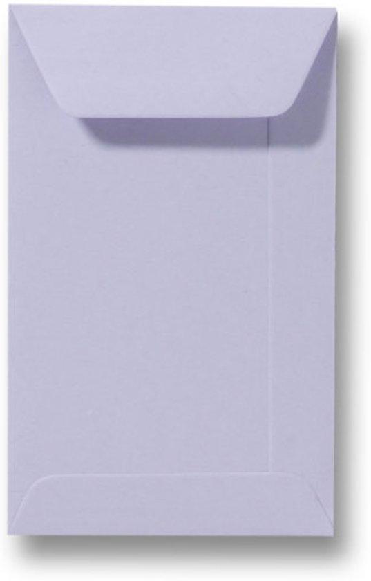 Envelop 6,5 x 10,5 cm Lavendel 100 stuks