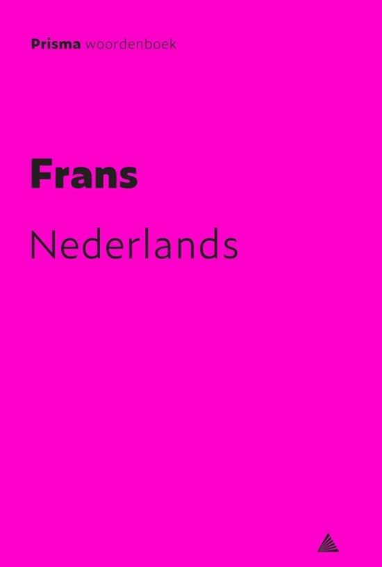 Prisma woordenboek Frans-Nederlands - A.M. Maas