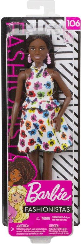 Barbie Fashionistas Pop - Rainbow Floral