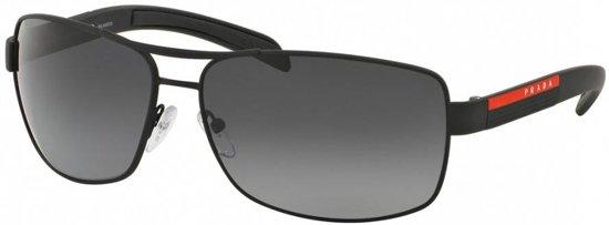 0a8c3f7cd1bc62 Prada Sport heren zonnebril mat zwart PS 54IS DG05W1