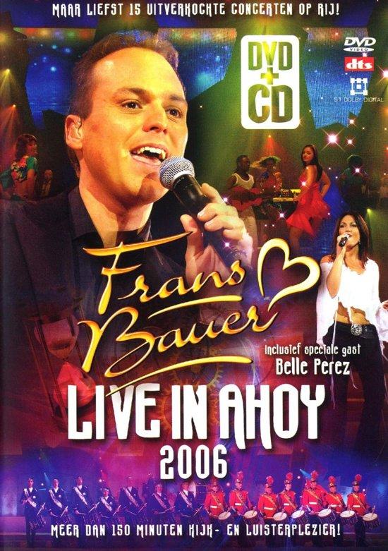 Frans Bauer - Live In Ahoy 2006 + cd