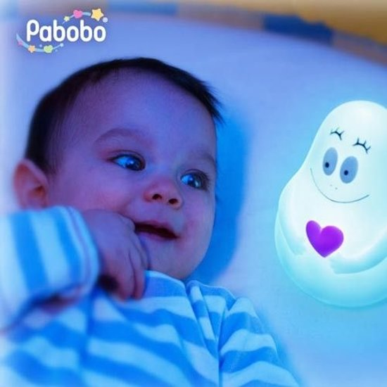 Pabobo Lumilove Barbapapa Nachtlampje