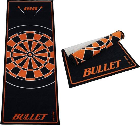 Dragon darts - Bullet Oranje 237x80 cm - dartmat – dart vloerkleed