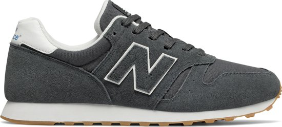 eca5f021fbd New Balance 373 Classics Traditionnels Sneakers - Maat 42 - Mannen - donker  grijs/wit