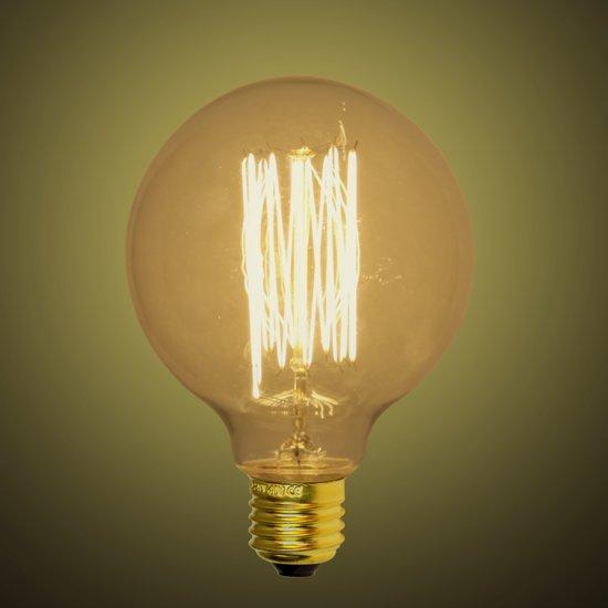 Xqlite kooldraad lamp g95 e27 40w ww xq15901 for Lampen 40 watt