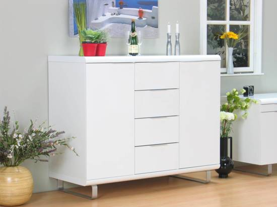 Bol.com boston dressoir wit