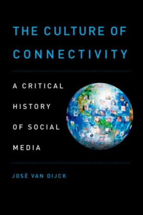 Boek cover The Culture of Connectivity van José van Dijck (Paperback)