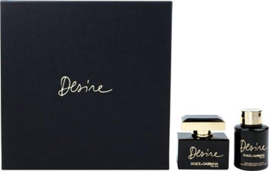 Dolce & Gabbana The One Desire - 2 delig - Geschenkset