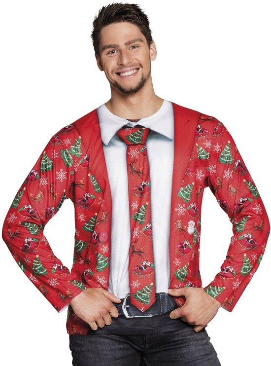 St. Fotorealistisch shirt Fancy Christmas (L)