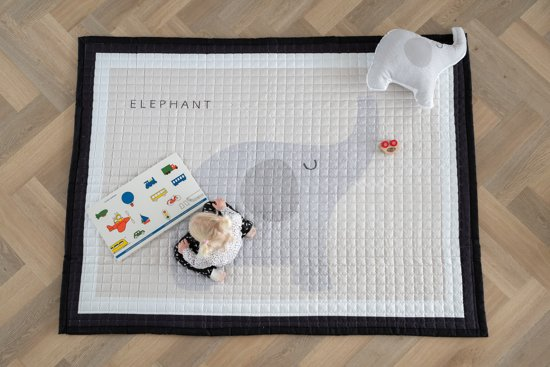 Love by Lily - groot speelkleed baby - Olifant - 150x200