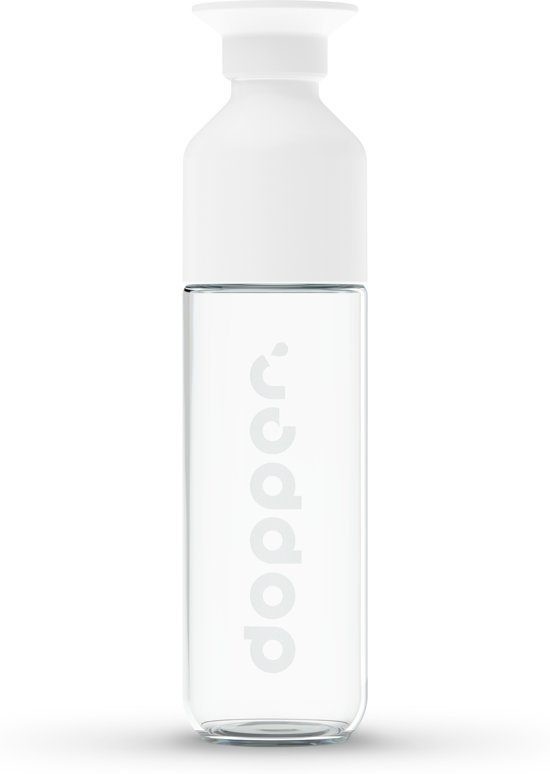 Dopper Glass glazen drinkfles - 400 ml