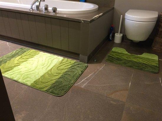 bol.com | badmat set - Badkamer tapijt - Brize 13 60x100cm+50x60cm ...