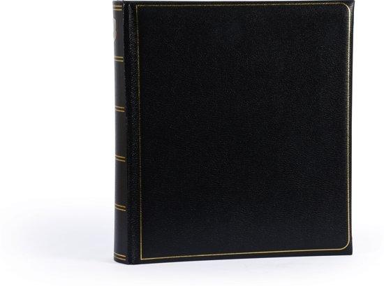 Henzo MEMORY - Fotoalbum - 28 x 30,5 cm - Zwart - 100 Pagina's