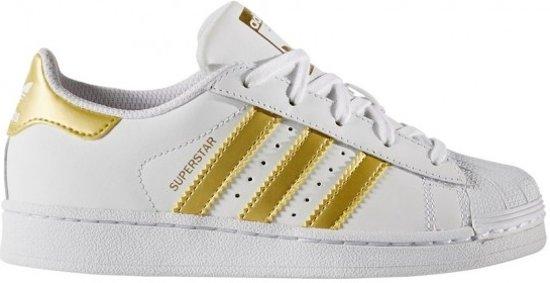 Superstar Adidas J Bb2870, Femmes, Blanc, Chaussures De Sport Taille 38 2/3 Ue