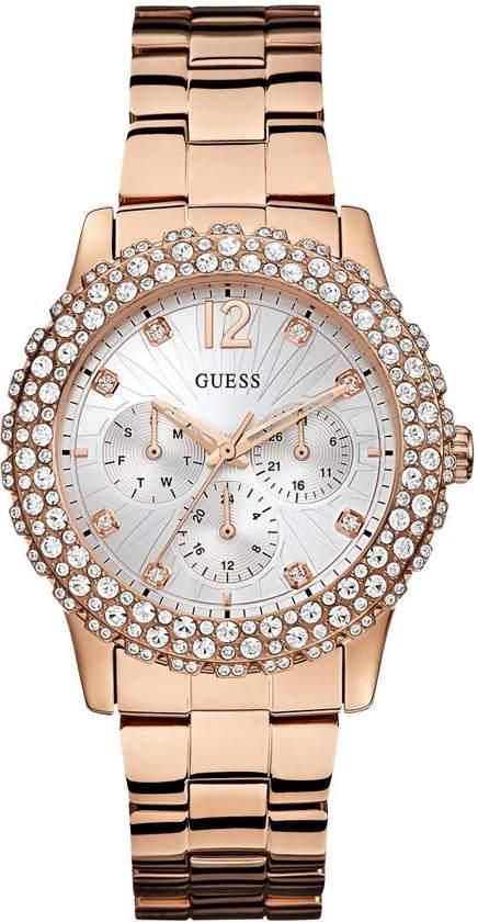 Guess W0335L3 Dazzler - Horloge - 40.0 mm - Rosékleurig