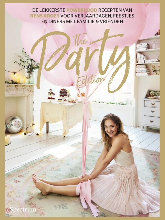 Boek cover The party edition van Rens Kroes (Onbekend)