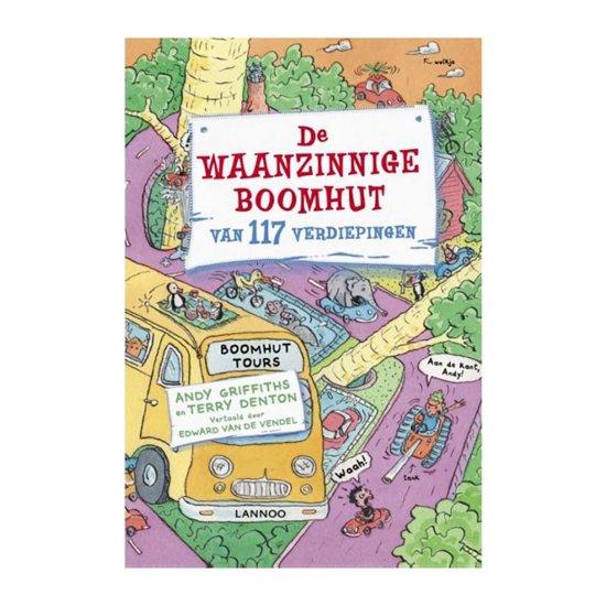 Boek cover De waanzinnige boomhut - De waanzinnige boomhut van 117 verdiepingen van Andy Griffiths (Hardcover)