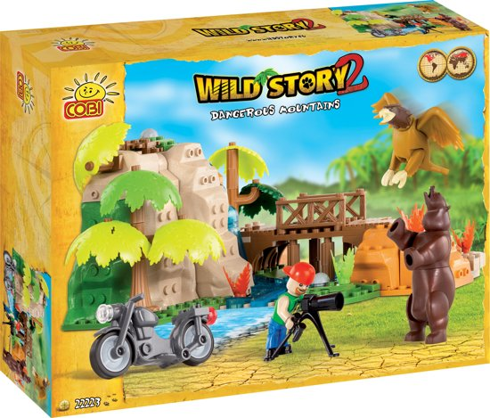 Cobi Wild Story Dangerous Mountain - 22223