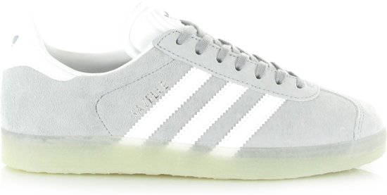 adidas gazelle grijs wit