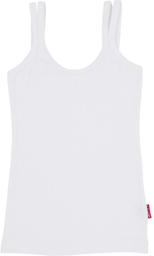 Claesen's Meisjes Onderhemd - White - Maat 128-134