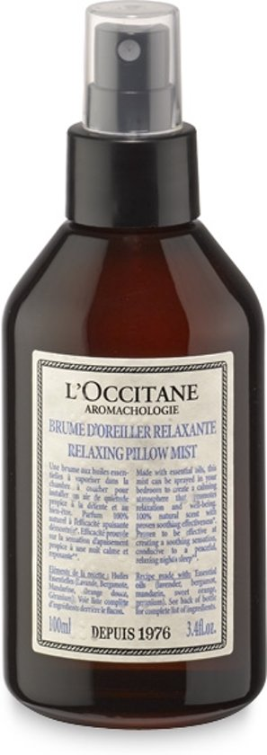 L'Occitane Relaxing Pillow Mist Aromachology - 100 ml