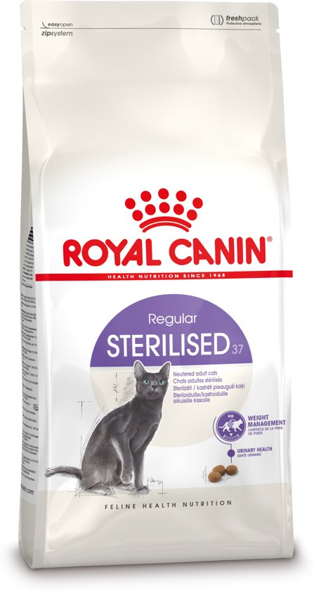 royal canin sterilised 37 kattenvoer 2 kg. Black Bedroom Furniture Sets. Home Design Ideas