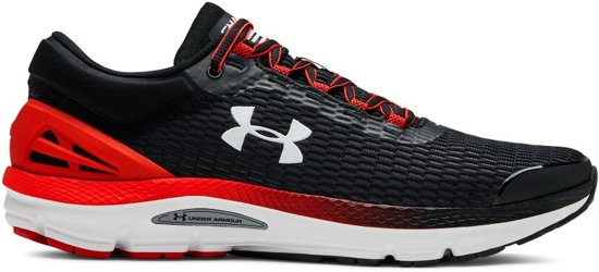 Under Armour Charged Intake 3 Sportschoenen Heren - Zwart - Maat 45