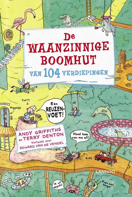 Boek cover De waanzinnige boomhut van 104 verdiepingen van Andy Griffiths (Onbekend)