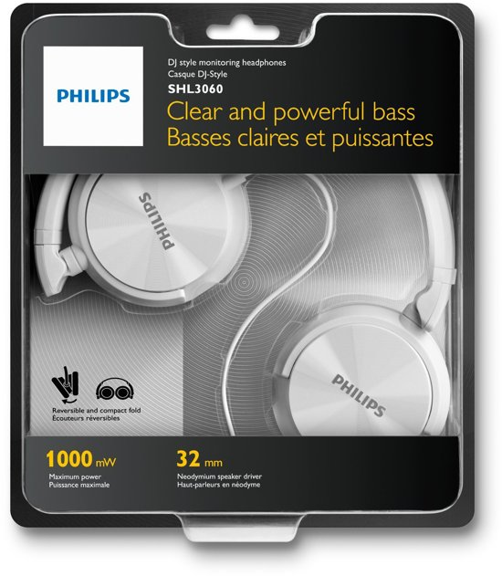 Philips SHL3060 On-Ear Koptelefoon