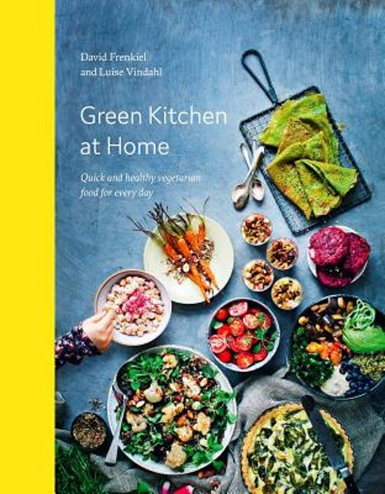 Boek cover Green Kitchen at Home van David Frenkiel (Hardcover)