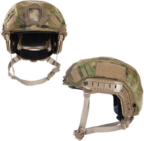 Emerson Fast helmet cover ripstop ICC FG Groen