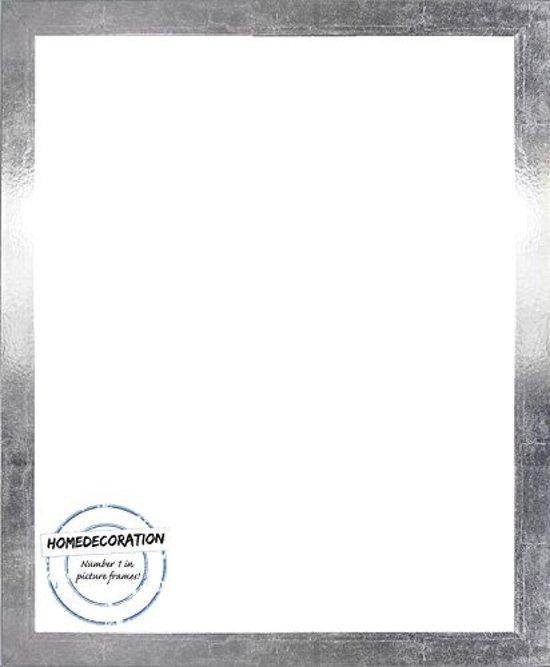 Homedecoration Misano – Fotolijst – Fotomaat – 38 x 56 cm  – Zilverglans retro