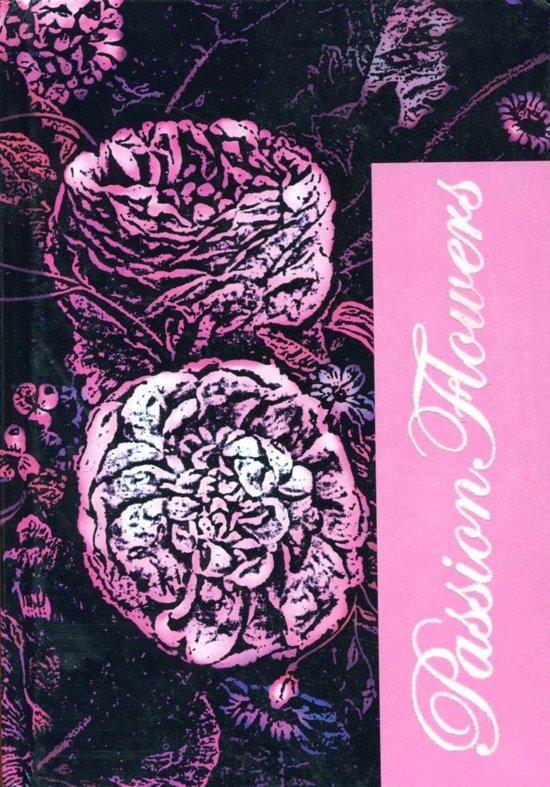 Pasion Flowers Notitieboek met harde kaft A5