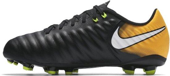 sale retailer 203ce aed2b Nike Tiempo Ligera IV FG Junior - Voetbalschoenen - Kids - Maat 6Y - Zwart -