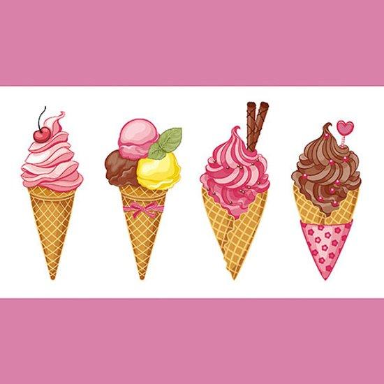 Papstar servetten Ice cream