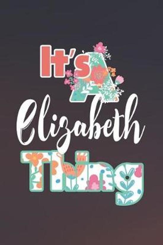 It's Elizabeth Thing